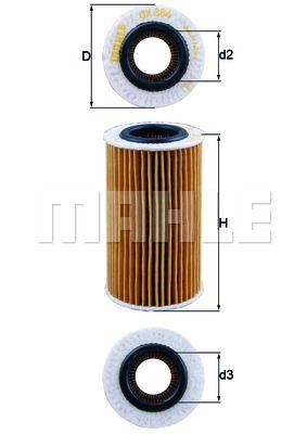 KNECHT OX384D Масляный фильтр Купить недорого