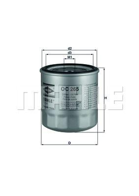 OC265 KNECHT Масляный фильтр на CHERY
