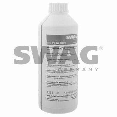 SWAG 99901089 Антифриз SWAG (G11), синий 1,5L заказать по низкой цене