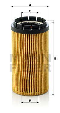 MFHU718X MANN Масляный фильтр для KIA CERATO