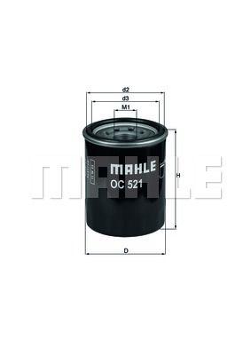 OC521 KNECHT Масляный фильтр для KIA CERATO