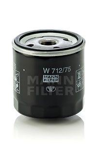 W71275 MANN Масляный фильтр для CHEVROLET LACETTI